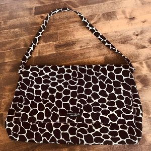 Kate Spade Vintage Giraffe Print Handbag